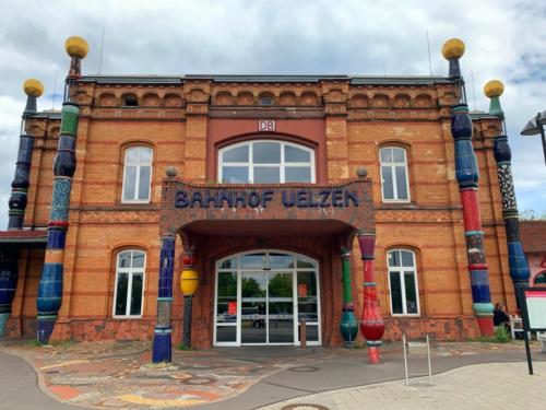 Hundertwasser Bahnhof, Uelzen