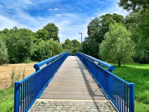 Blaue Brücke...