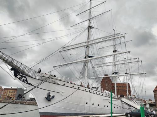Gorch Fock in Stralsund